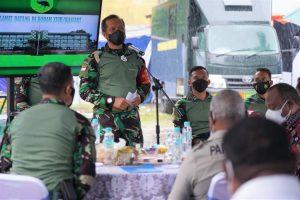 Pangdam XVIII/Kasuari Pimpin Acara Pembangunan UP3M dan Instalasi Sel Tahanan Pomdam