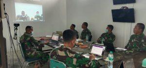Tekan Laju Covid 19, Danrem 182 Rumuskan Strategi Penanganan di Empat Kabupaten Papua Barat