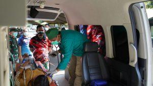 Sebanyak 111 Ribu Warga di Wilayah Korem 061/SK Telah Lakukan Vaksinasi