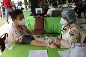 Kapendam I/BB : Vaksinasi, Prokes Ketat, dan Testing Masif Menurunkan Penularan Covid-19