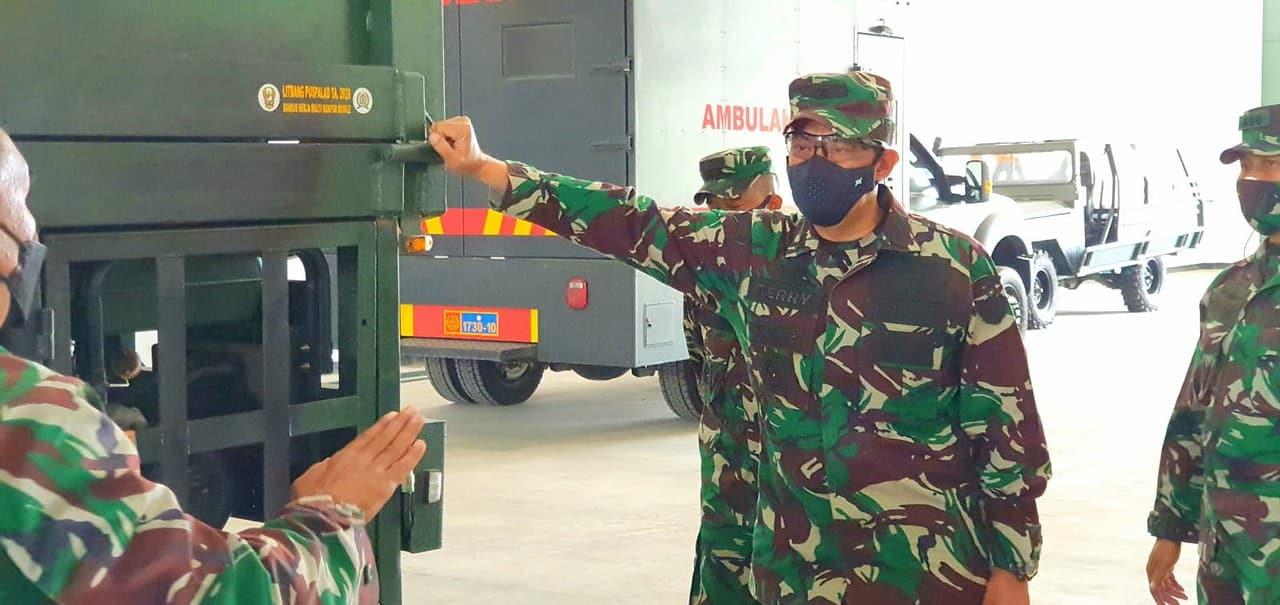 Dislitbangad Uji Coba Prototipe Ransus Kerja Multi Ranpur Mobile Hasil Litbanghan Puspalad