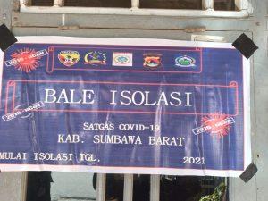 Koramil Jajaran Kodim 1628/SB Bersinergi Siapkan Rumah Isoter di Setiap Kelurahan di Wilayah KSB