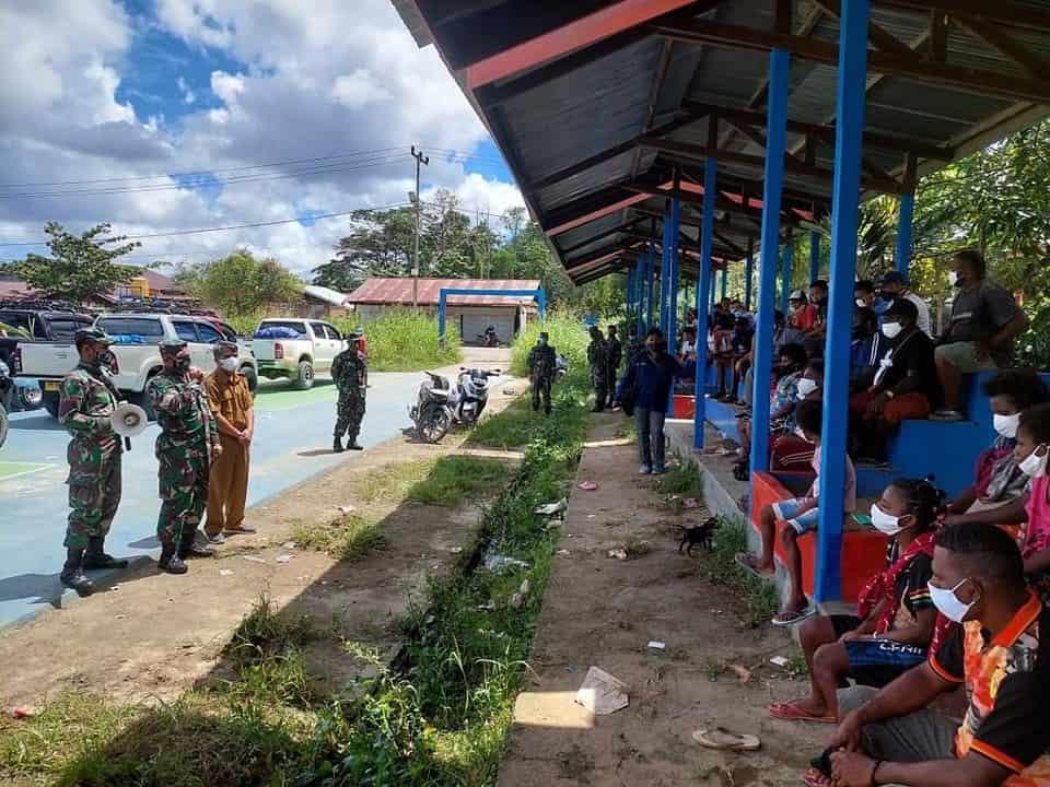 Imbas Kontak Tembak Teroris OPM, Danrem 182 Instruksikan Kawal 96 Pengungsi Mayerga