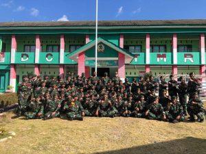 Danpussenarmed Kunjungi Satgas Pamtas RI-RDTL Yonarmed 6/3 Kostrad di NTT