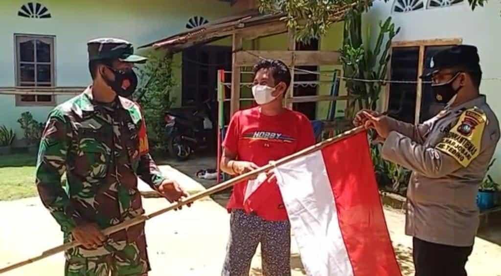 Semangat Masyarakat Kibarkan Bendera Merah Putih di Wilayah Tanjung Balai Karimun