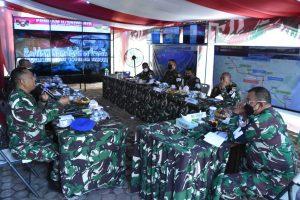 Pastikan Kesiapan Pengawalan, Danpuspomad Kunjungi Poskotis Walakir Pomdam II/Sriwijaya di Martapura