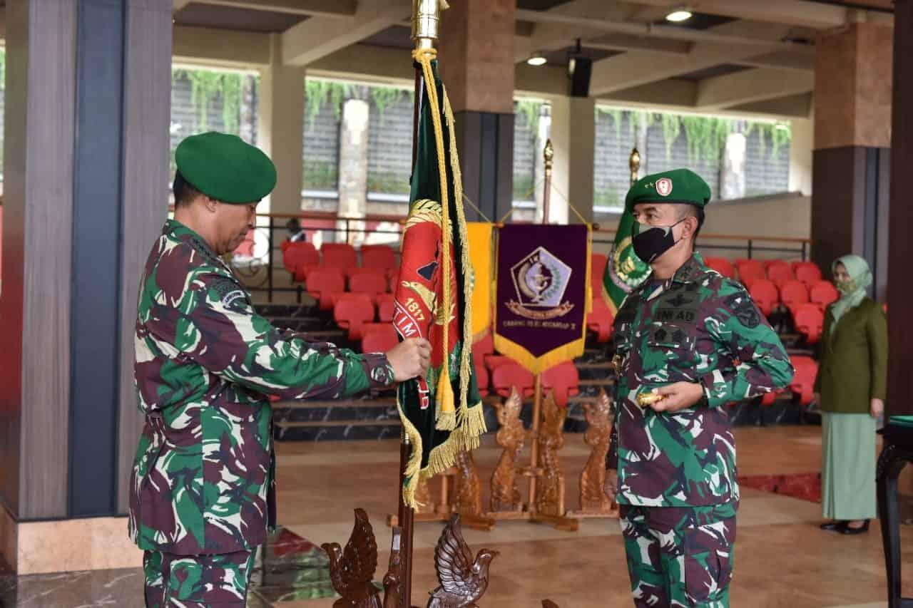 Kasad Pimpin Sertijab Empat Pejabat TNI AD dan Laporan Korps Kenaikan Pangkat 18 Pati TNI AD