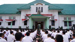 718 Orang Calon Bintara TNI AD TA 2021 Terima Arahan dan Pesan Danrem 061/ SK