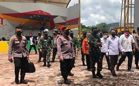 Pangdam XVII/Cenderawasih Dampingi Panglima TNI dan Kapolri Kunjungan Kerja di Mimika