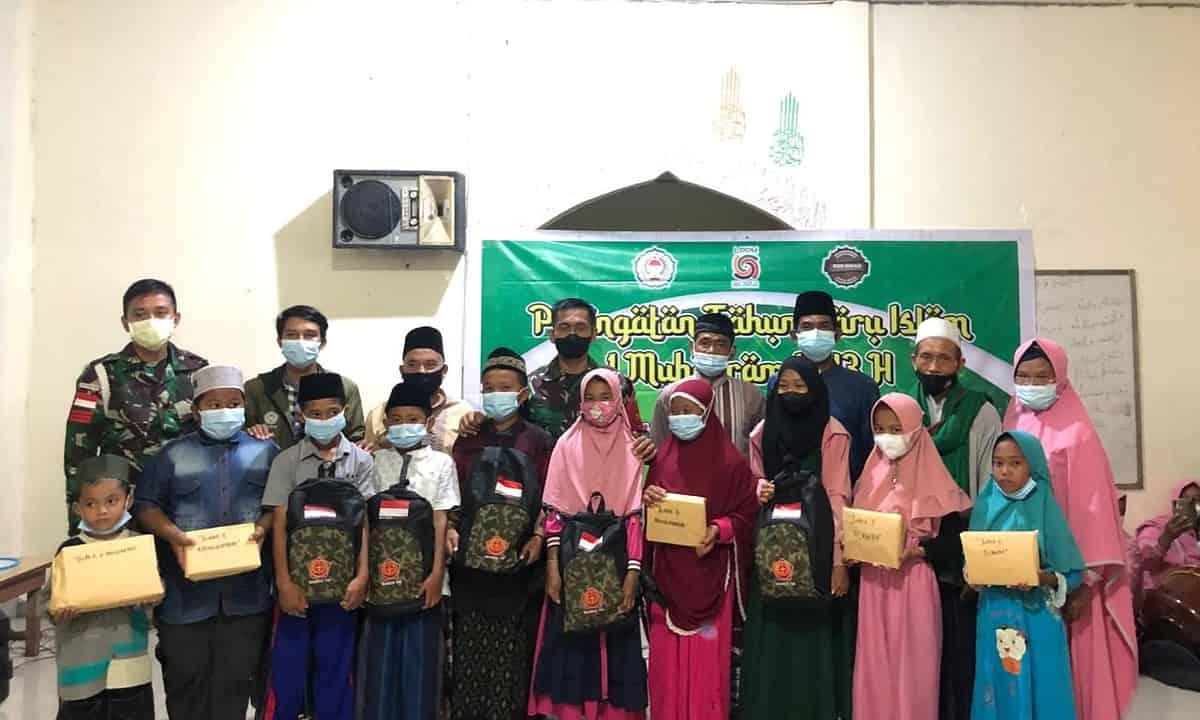 Sambut Tahun Baru Islam TNI Doa Bersama Dengan Masyarakat dan Santri di Papua