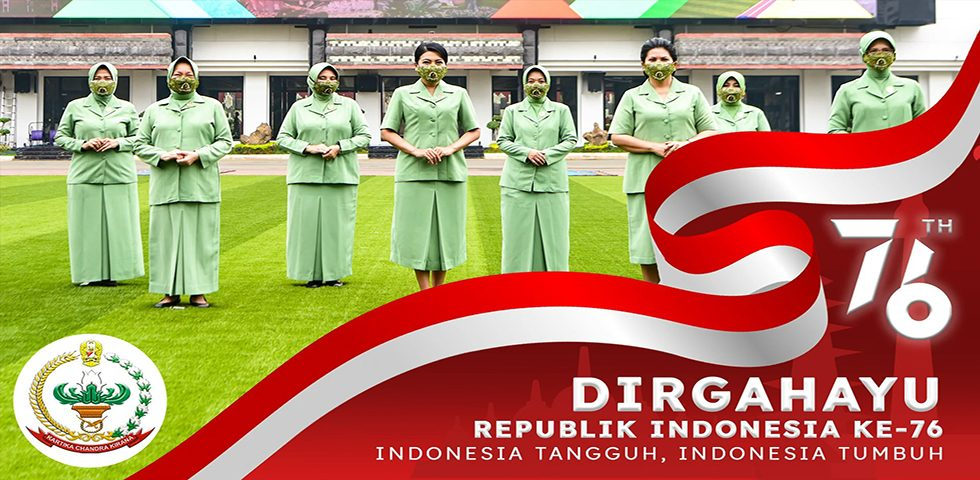 Bakti Persit Kartika Chandra Kirana untuk Indonesia Tangguh, Indonesia Tumbuh