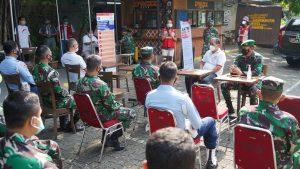 Aksi Donor Plasma Konvalesen Korem 061/SK Bersama Radar Bogor