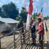 Sambut Hari Kemerdekaan, Dansatgas Pamtas Yonif 742/SWY Imbau Masyarakat Kibarkan Bendera Merah Putih