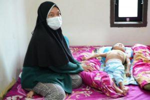 Yatim dan Alami Infeksi Paru, Anak Usia 6 Tahun Terima Bantuan Korem 143/HO