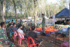 Progam Unggulan Ternak Ikan Yonif 126/KC, Tingkatkan Ketahanan Pangan Warga Papua di Tengah Pandemi Covid – 19