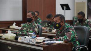 Penekanan Pangdam II/Swj Kepada Yonif Raider 200/BN Dalam Latma MTT SFAB Dengan US Army