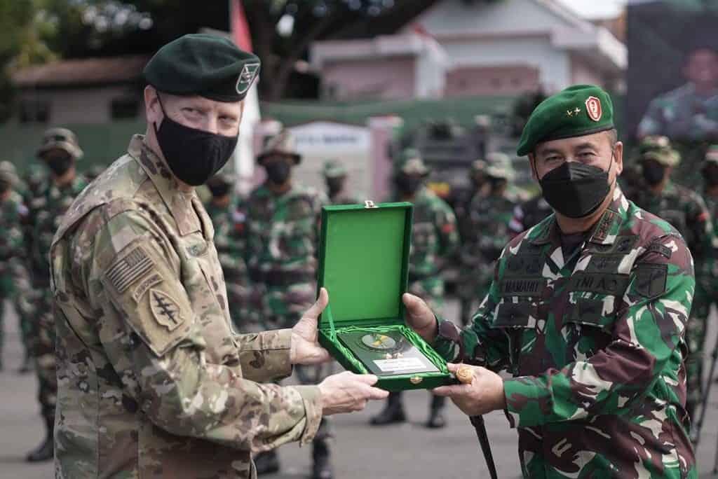 Resmi Ditutup, Latma Garuda Shield Ke 15 Diharapkan Berkontribusi Bagi Perdamaian Kawasan
