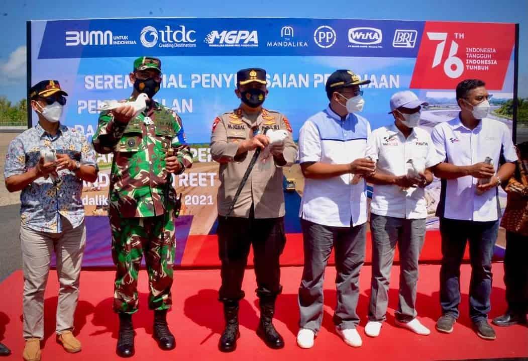 Danrem 162/WB : Sirkuit Mandalika Majukan Pariwisata Lombok dan Tingkatkan Kesejahteraan Masyarakat
