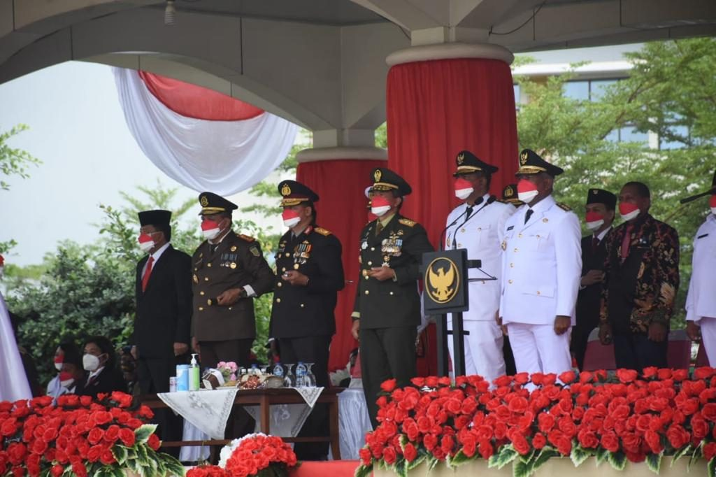 Pangdam XVIII/Kasuari Perintahkan Jajarannya Bantu Pemda Dalam Penanganan Covid-19