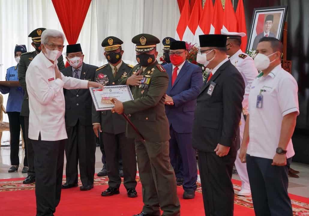 Kodam II/Sriwijaya Juara – I Lomba Dekorasi dan Keindahan Kantor Tingkat Provinsi Sumsel