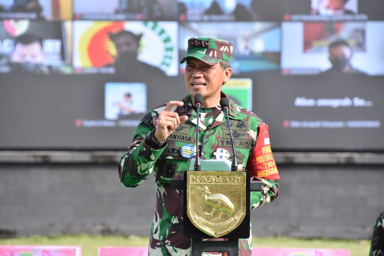 Final Lomba Video HUT Ke-76 RI Kodam XVIII/Kasuari, Hasil Karya Remaja Papua Barat Dapat Bersaing Secara Nasional