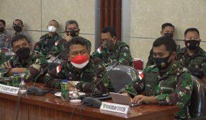 Sukseskan Event Nasional, Pangdam XVII/Cenderawasih Bersama Pejabat TNI-Polri Gelar Rapat Bahas PON XX Papua