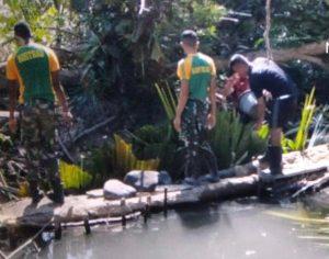 Satgas Pamtas RI-RDTL Yonarmed 6/3 Kostrad Serentak Gelar Karya Bakti Bersama Warga Perbatasan
