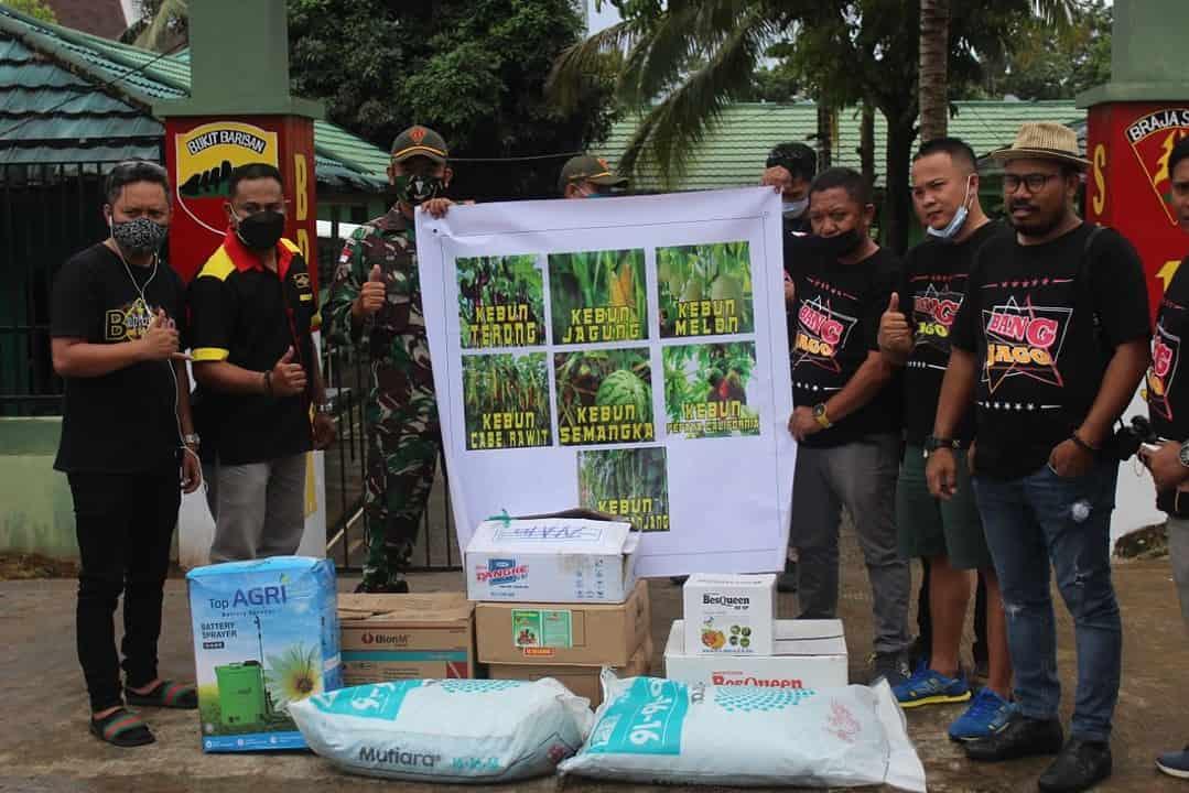 Kebun Satgas Yonif 131 di Skouw Papua, Diapresiasi Komunitas Pertanian GCI