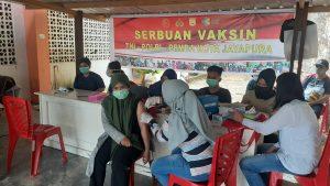 Sukseskan Program Nasional, TNI-Polri Bersama Instansi Terkait Gelar Serbuan Vaksinasi di Provinsi Papua