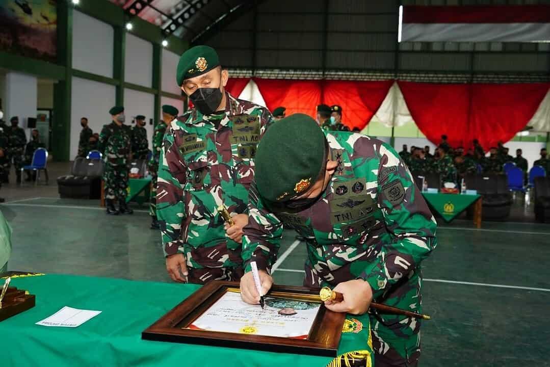 Pangkostrad Kunjungi Markas Divif 2 Kostrad di Malang