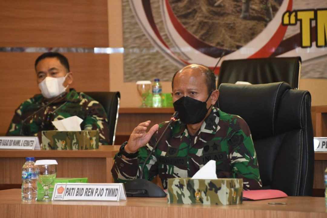 "TMMD Ke 112 Usung Tema ""TMMD Wujud Sinergi Membangun Negeri"""