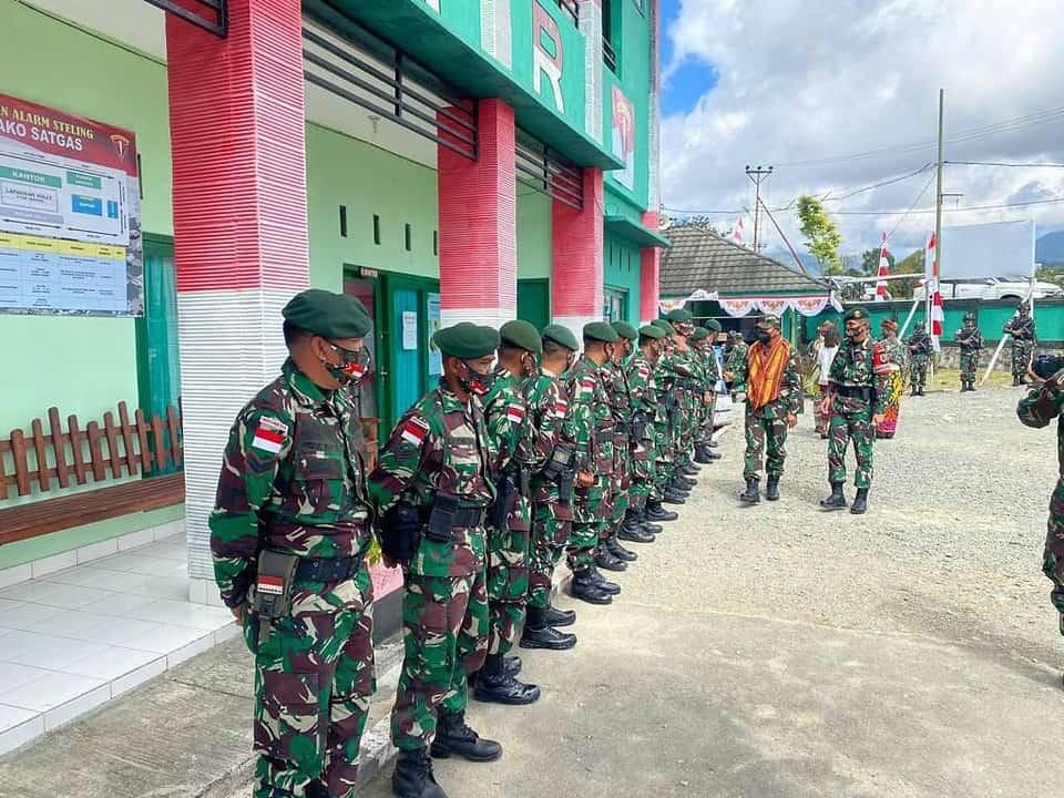 Satgas Pamtas RI-RDTL Yonamed 6/3 Kostrad, Dikunjungi Kepala Staf Divisi Infanteri 3 Kostrad
