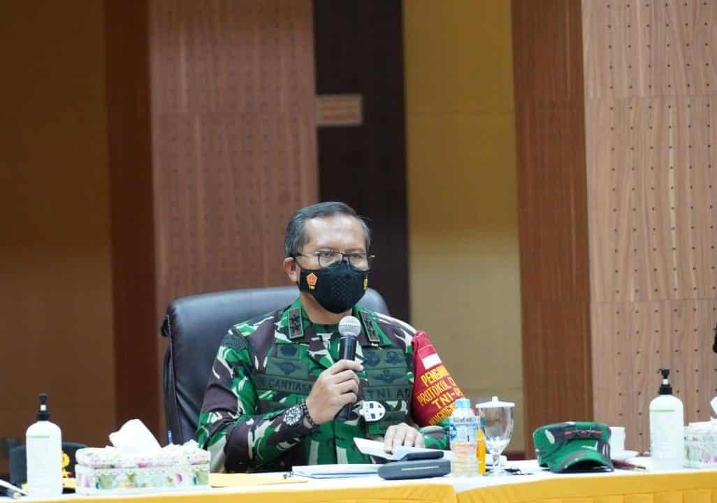 Pangdam XVIII/Kasuari Cek Kesiapan Jajarannya Pada Kunjungan Panglima TNI dan Kapolri ke Sorong