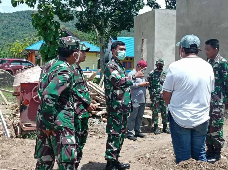 Kunjungi Bombana, Dandim 1413/Buton Pastikan Penyelesaian Pembangunan Kodim Bombana