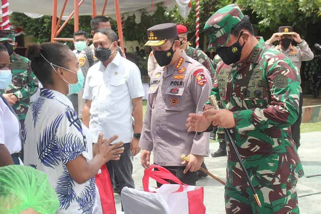 Pangdam XVII/Cenderawasih Dampingi Panglima TNI dan Kapolri Kunker di Papua