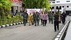 Tatap Muka Panglima TNI dan Kapolri Dengan Forkopimda Se-Papua Barat Dalam Rangka Penanganan Covid-19
