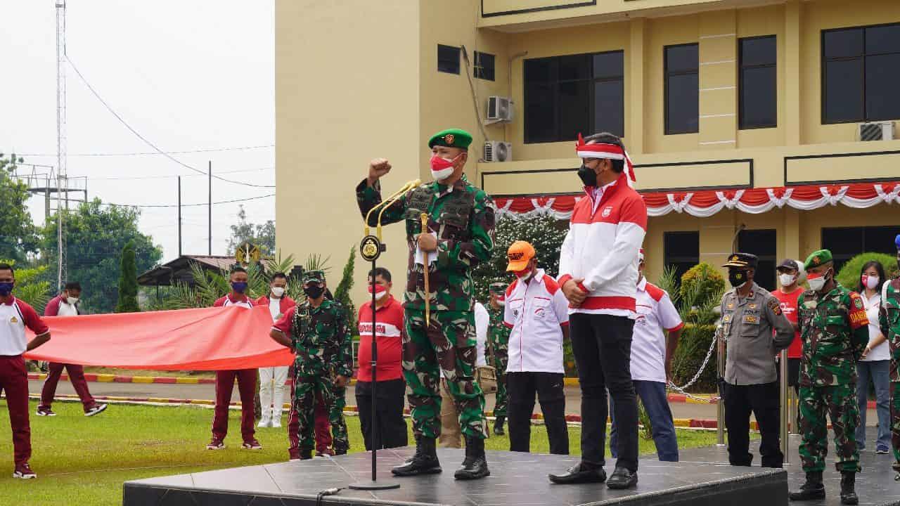 Danrem 061/SK Apresiasi Sinergitas Elemen Masyarakat Sukseskan Festival Merah Putih