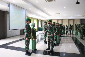Danpuspenerbad Pimpin Acara Serah Terima Jabatan dan Penyerahan Jabatan Pamen Golongan IV di Lingkungan Puspenerbad