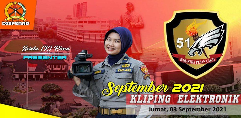 Kliping Elektronik Jumat, 3 September 2021