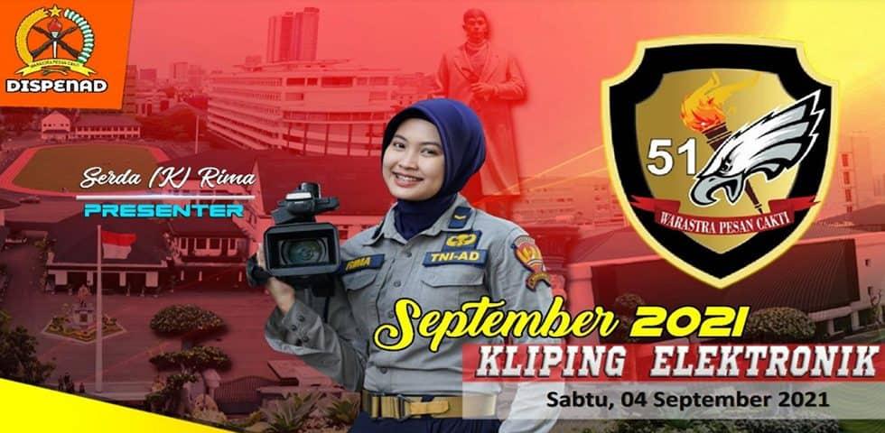 Kliping Elektronik Sabtu, 4 September 2021