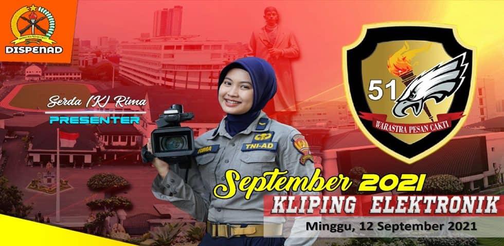 Kliping Elektronik Minggu, 12 September 2021