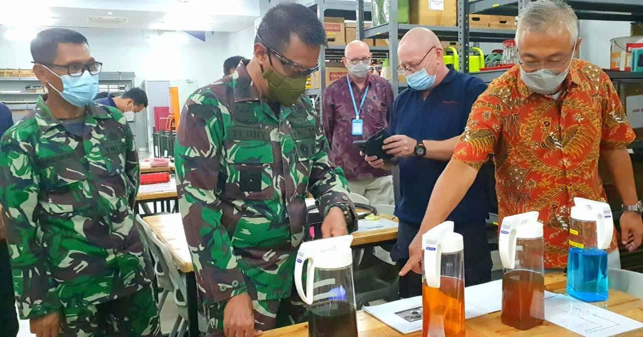 Kadislitbangad Tinjau Workshop PT. Cipta Teknik Berjaya