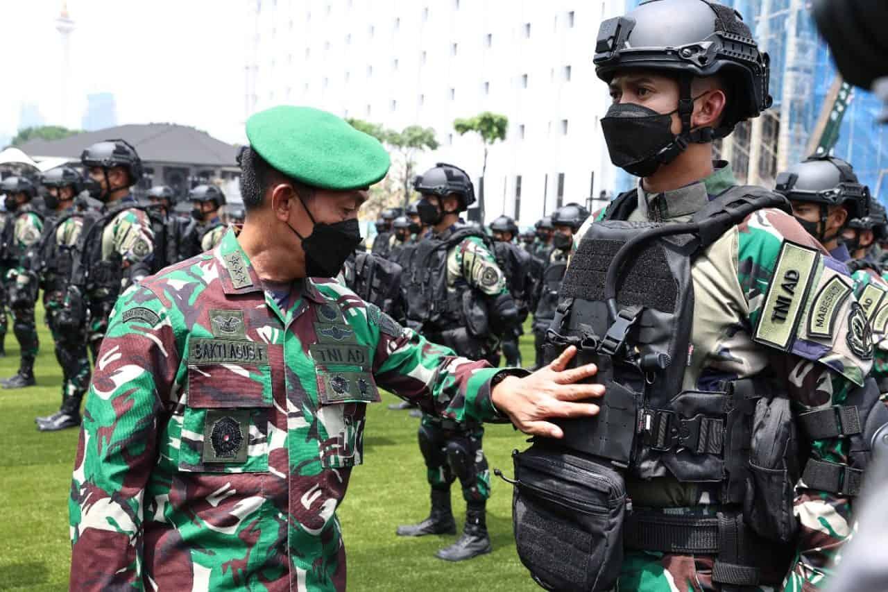 Wakasad Lepas Kontingen TNI AD Untuk Latma Wirajaya Ausindo 2021