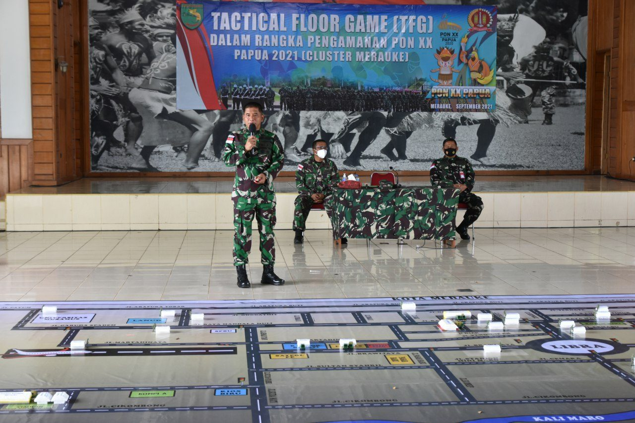 Danrem 174 Merauke : Semua Prajurit Harus Mengerti Tugasnya Pada Pengamanan PON XX