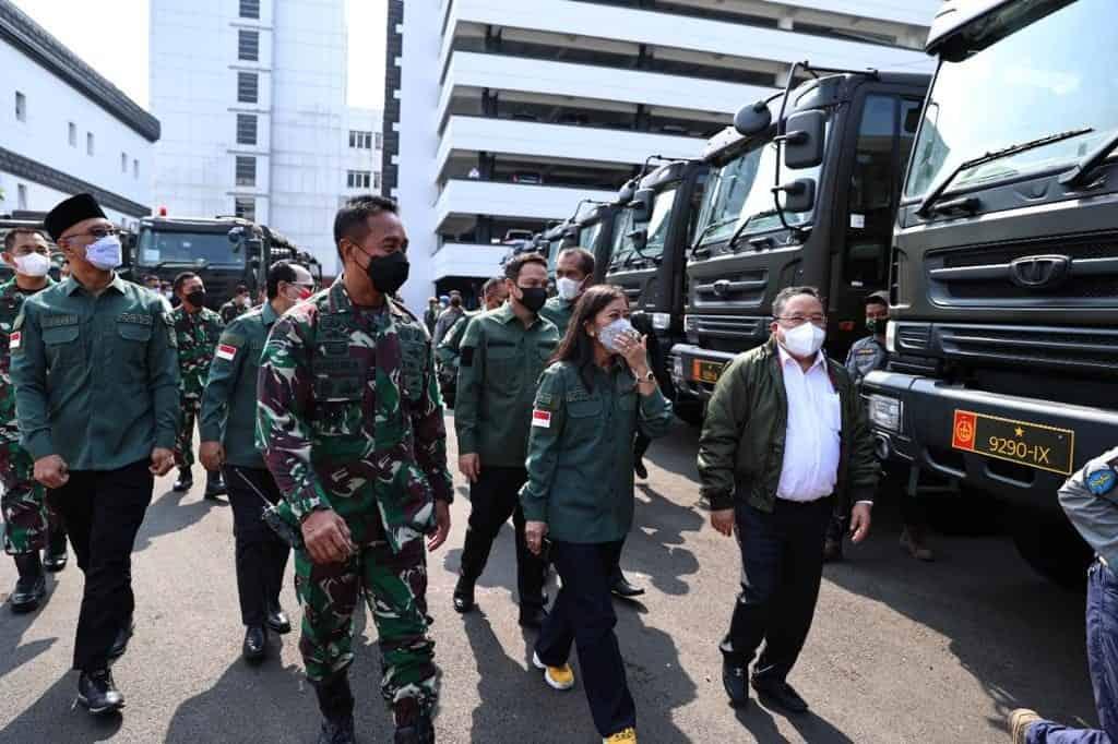 TNI AD Distribusikan Lagi Kendaraan Dinas