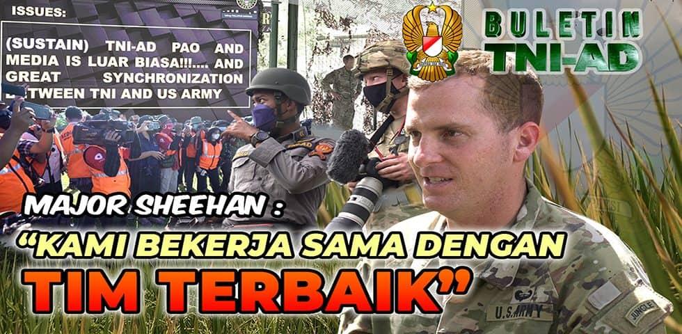 Kami Bekerja Sama dengan Tim Terbaik   BULETIN TNI AD