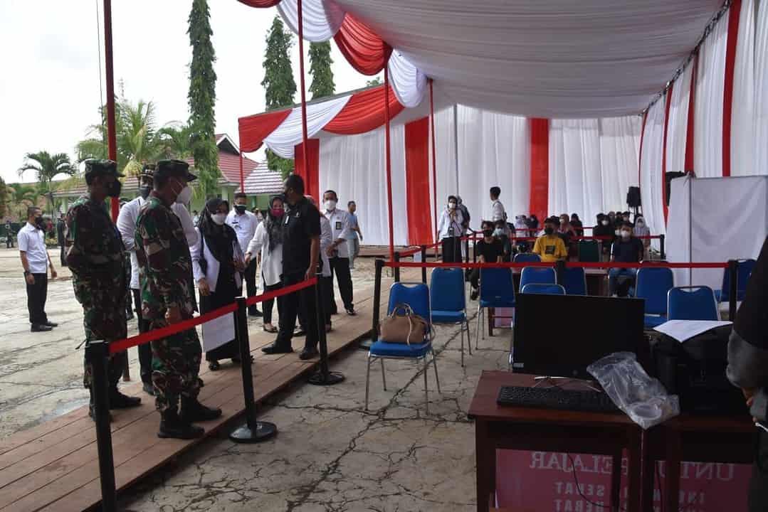 Pangdam II/Sriwijaya Tinjau Kesiapan Pengamanan Kunjungan Presiden RI di Lampung