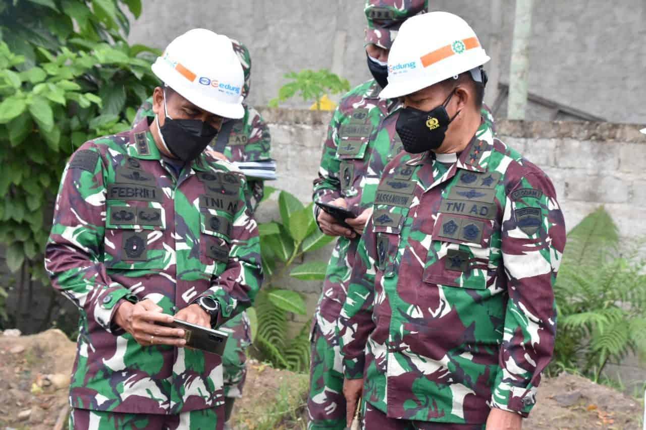 Pangdam I/BB Tinjau Lokasi Isoter dan Posko PPKM di Kepulauan Nias