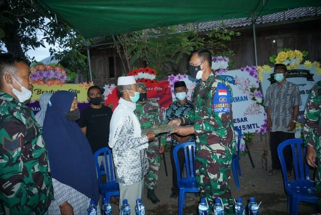 Atas Nama Pimpinan Angkatan Darat, Danrem 162 WB Sampaikan Belasungkawa Gugurnya Lettu Chb Dirman