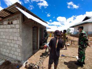 Tinjau Pompa Hidram, Dandim Alor Ajak Masyarakat Kerja Bersama Babinsa